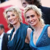 Cannes 2012 : Alexandra Lamy et Sandrine Bonnaire, duo bleuté et décolleté