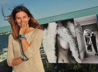 Veronika Loubry : La superbe brune dévoile son art sur un toit paradisiaque...
