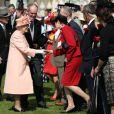 Première garden party à Buckingham Palace du jubilé de diamant de la reine Elizabeth II, le 22 mai 2012.