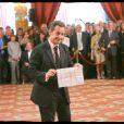 Nicolas Sarkozy et son joli dessin
