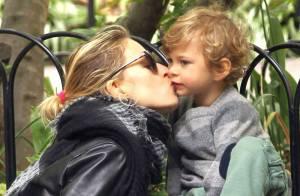 Karolina Kurkova : Tendre réconciliation avec son fils