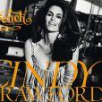 Cindy Crawford, sexy en couverture du vingtième numéro du magazine  French   Revue de Modes  qui fête ses 10 ans.