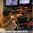 Cauet et toute son équipe ont animé une émission sur NRJ nus après avoir dépassé le million de fans sur Facebook. Kev' Adams et M. Pokora se sont prêtés au jeu et ne sont pas frileux !