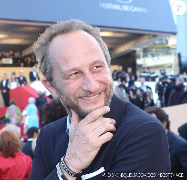 Benoît Poelvoorde sur les marches du Festival de Cannes, le 22 mai 2012.
