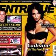 Ludivine de  The Voice  en couverture d' Entrevue
