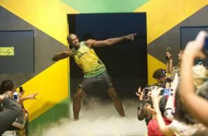 Usain Bolt, roi du sprint, ambiance le podium des JO avec la fille de Bob Marley