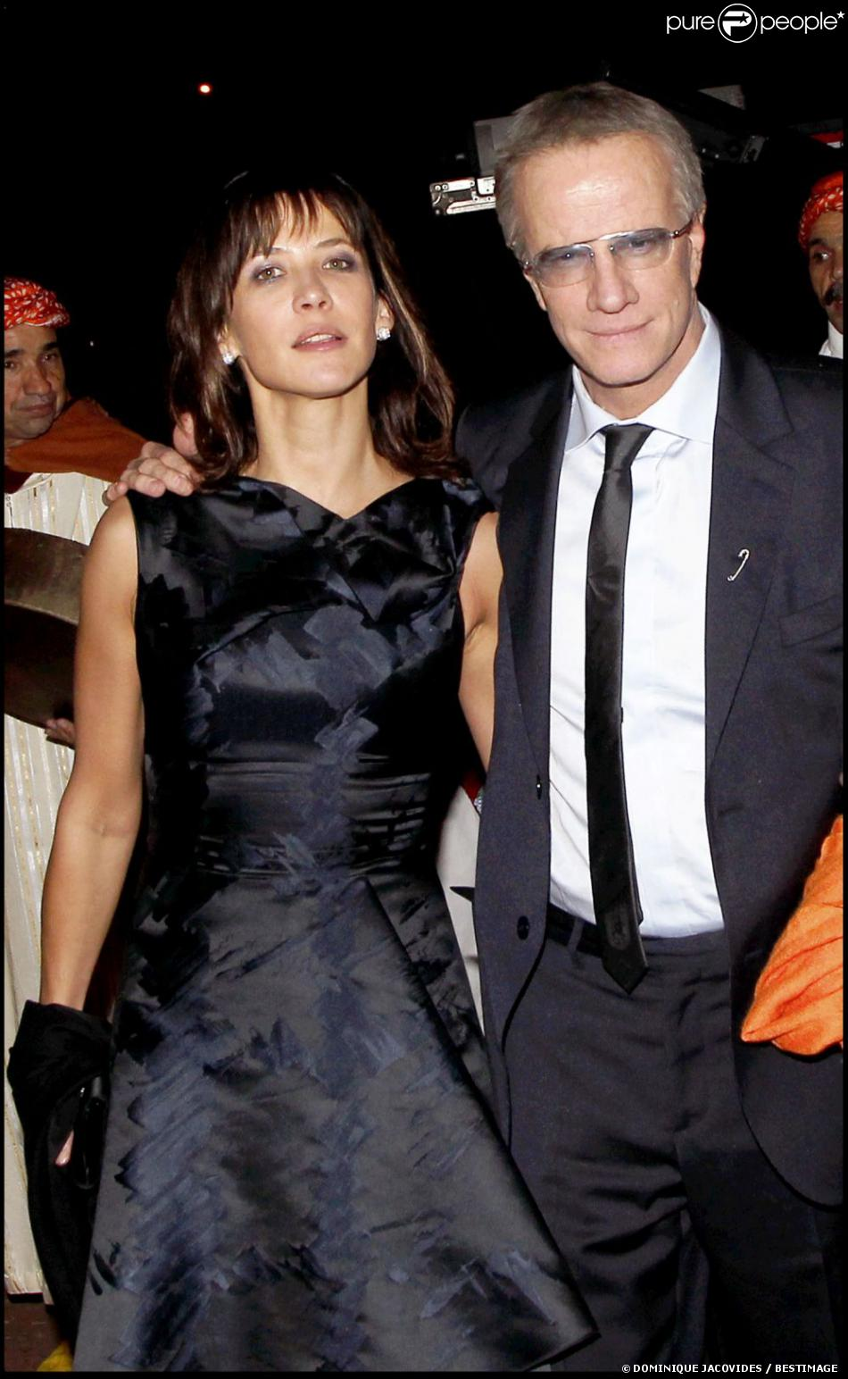 sophie marceau et son compagnon christophe lambert marrakech le 4 d cembre 2010 purepeople. Black Bedroom Furniture Sets. Home Design Ideas