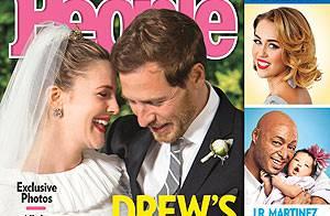 Drew Barrymore : Première photo officielle de son mariage avec Will Kopelman
