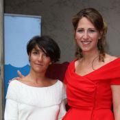 Les pétillantes Florence Foresti et Cristina Cordula réunies pour Maud Fontenoy