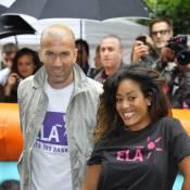 Amel Bent transformée et subjuguée par Zinédine Zidane pour les enfants d'ELA
