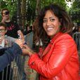 """""""Amel Bent lors d'une journée de mobilisation organisée par ELA dans les rues de Paris près du Parc Monceau le 7 juin 2012"""""""