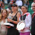 Maria Sharapova a vécu son premier sacre à Roland-Garros samedi 9 juin 2012.