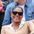 Marie-José Pérec. Les people étaient nombreux au rendez-vous de la finale féminine de Roland-Garros, samedi 9 juin 2012, pour assister au premier sacre à Paris de Maria Sharapova.