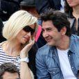 Adriana Karembeu a suivi la finale Sharapova-Errani avec son compagnon André Ohanian. Les people étaient nombreux au rendez-vous de la finale féminine de Roland-Garros, samedi 9 juin 2012, pour assister au premier sacre à Paris de Maria Sharapova.