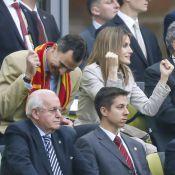 Euro 2012 : Letizia d'Espagne, Roja passionnée avec Felipe et Shakira