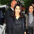 Leïla Bekhti à l'avant-première de  Mains armées , le 11 juin 2012 lors du Champs-Elysées Film Festival à Paris.