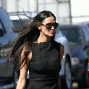 Demi Moore, en forme, et Bruce Willis réunis pour leur fille Tallulah