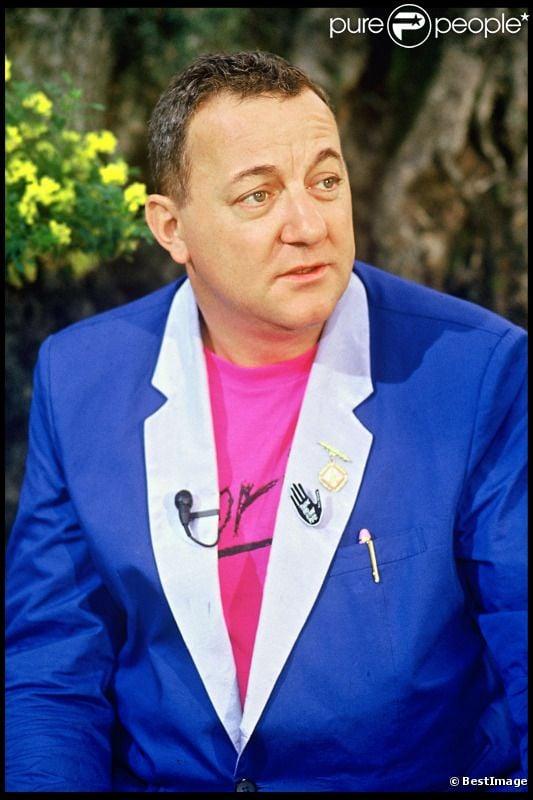 Coluche au festival de Cannes en 1985
