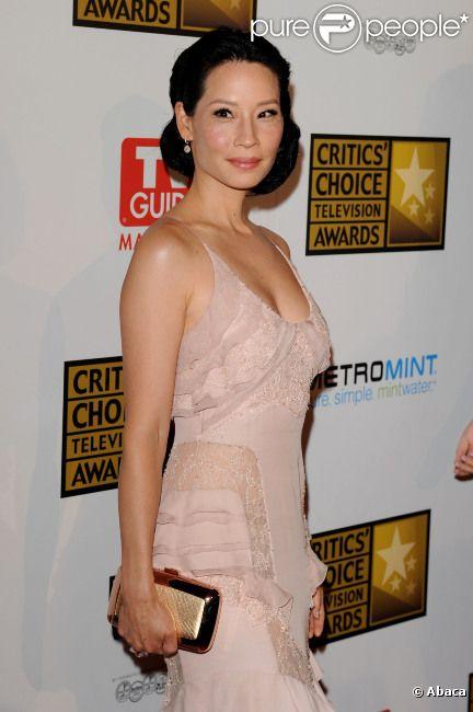Lucy Liu lors des Critics Choice Awards, le 18 juin 2012 à Los Angeles.