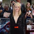 Emma Stone lors de l'avant-première du film The Amazing Spider-man à Londres le 18 juin 2012