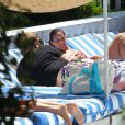James Corden en vacances à Miami le 18 juin 2012