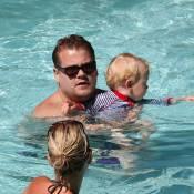 James Corden : Vacances tendres et câlines avec son adorable fils et sa fiancée