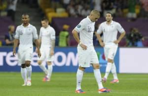 Euro 2012 : Les Bleus humiliés mais qualifiés sous les yeux de leurs femmes