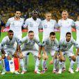 L'équipe de France lors du match perdu face à la Suède le 19 juin 2012 à Kiev en Ukraine (2-0)