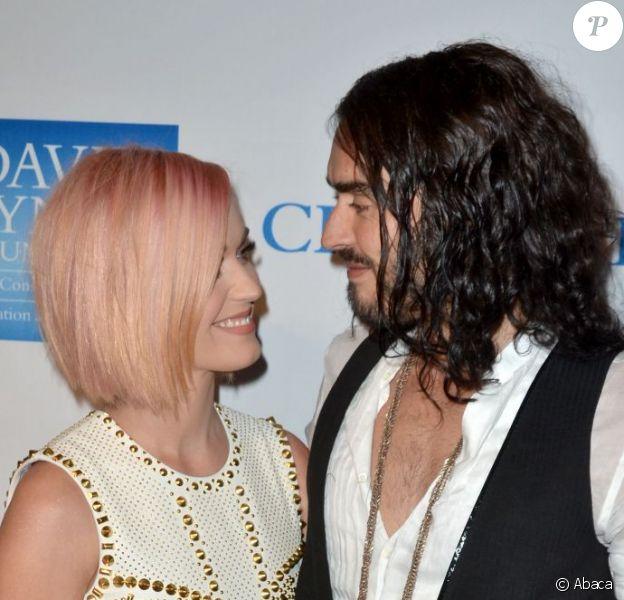 Dernière apparition publique du couple Katy Perry et Russell Brand à Los Angeles, le 3 décembre 2012.