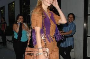 PHOTOS : Mischa Barton, un défilé de mode à elle toute seule !
