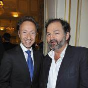 Stéphane Bern et Denis Olivennes, réunis autour d'un ami pour un instant unique