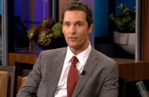 Matthew McConaughey: L'étrange réaction de sa femme face à sa demande en mariage
