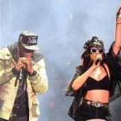 Rihanna, sexy et excentrique, et Jay-Z : Retrouvailles triomphales