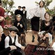 Campagne familiale pour Dolce & Gabbana ! Monica Bellucci, Bianca Balti et Bianca Brandolini d'Adda s'illustrent pour l'Automne/Hiver 2012
