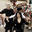 Monica Bellucci, magnifique mama italienne avec Bianca Balti et Bianca Brandolini d'Adda dans la campagne Automne/Hiver 2012 Dolce & Gabbana