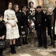 Campagne Automne/Hiver 2012 Dolce & Gabbana avec, pour stars féminines, les superbes Monica Bellucci, Bianca Balti et Bianca Brandolini