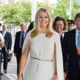 La princesse Maxima et le prince Willem-Alexander des Pays-Bas assistaient le 28 juin 2012 au Concertgebouw d'Amsterdam à la clôture du 65e Holland Festival.