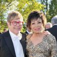 Elton John et Shirley Bassey lors du 14e White Tie and Tiara Ball, organisé par Elton John, David Furnish et Chopard, à Old Windsor, le 28 juin 2012.