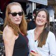 Jessica Springsteen et sa maman Patti Scialfa durant le Jumping de Monaco, le 29 juin 2012.