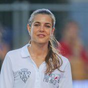 Charlotte Casiraghi soutenue par sa soeur Alexandra au Jumping de Monaco