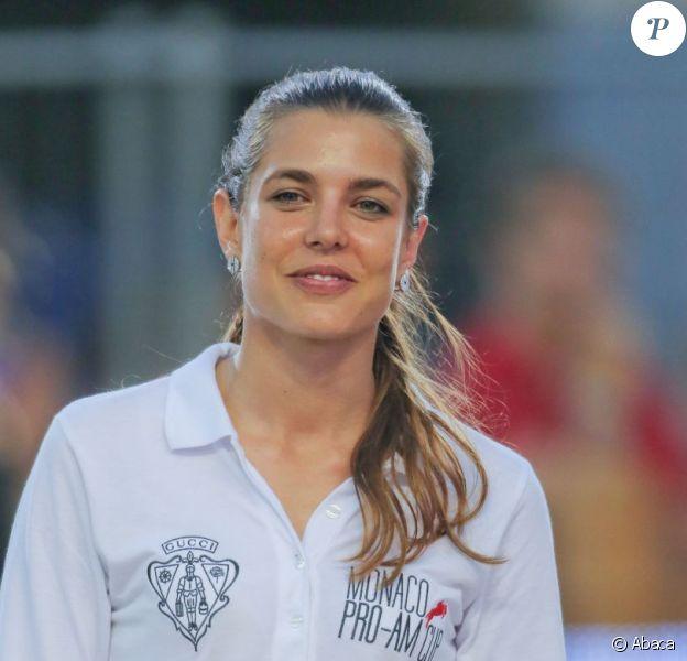 Charlotte Casiraghi au Pro-Am Cup de Monaco, prestigieuse épreuve du Jumping de Monaco sponsorisée par Jaeger LeCoultre, le 29 juin 2012.
