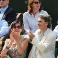 Lio et son nouveau compagnon à Roland-Garros le 31 mai 2012