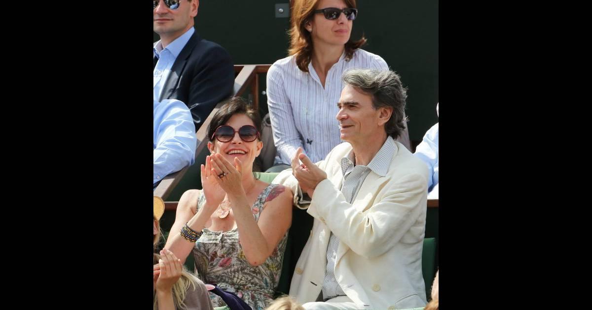 Lio et son nouveau compagnon à Roland-Garros le 31 mai ...