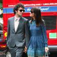 Kristen Wiig et Fabrizio Moretti après le mariage d'Ellie Kemper à New York, le 7 juillet 2012.