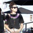 La chanteuse Eliza Doolittle, le samedi 7 juillet 2012.
