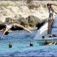 Le prince William et Kate Middleton en vacances à Ibiza avec des amis en 2006