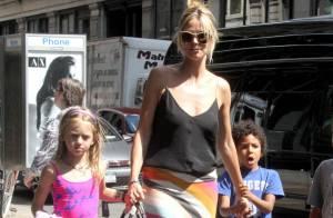Heidi Klum : Un après-midi détente et pop-corn avec ses quatre enfants