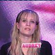 Audrey dans la quotidienne de Secret Story 6 le jeudi 12 avril 2012 sur TF1