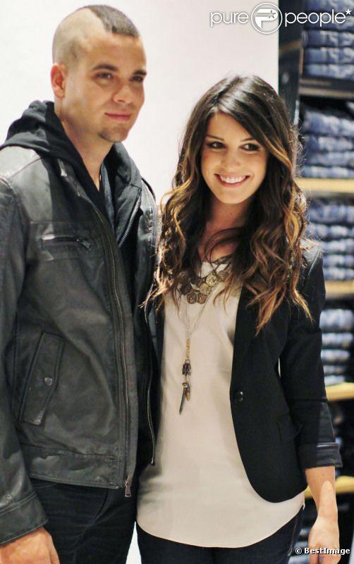 Mark Salling couple