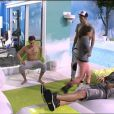 Sacha, Julien, Capucine et Thomas dans Secret Story 6